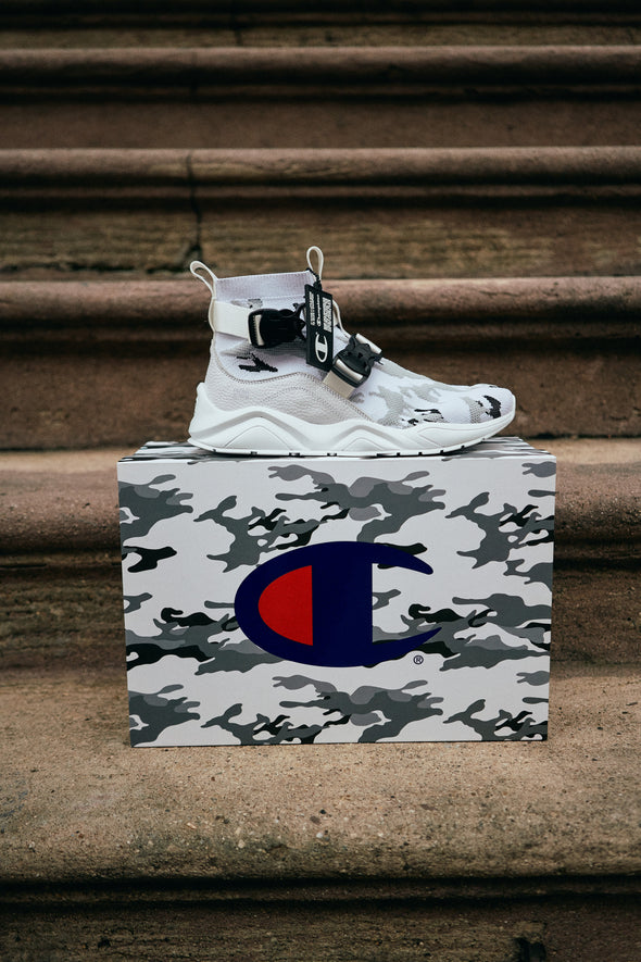 MEN'S CHAMPION RALLY LOCKDOWN - WHITE CAMO