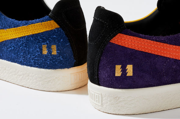 PUMA CLYDE X THE HUNDREDS / Blue / Spectra Yellow