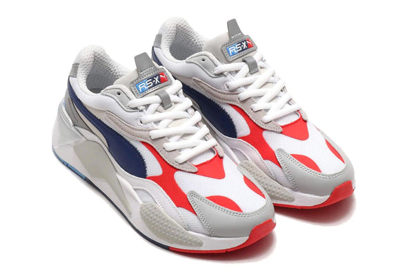 PUMA X BMW Motorsport RS-X³ - White / Blue / Red
