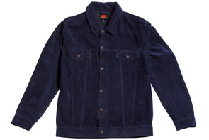 AFTER MIDNIGHT CORDUROY JACKET - Navy