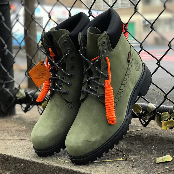 "TIMBERLAND X PORTER JAPAN 6"" WP VIBRAM BT - LIGHT GREEN / SAGE"