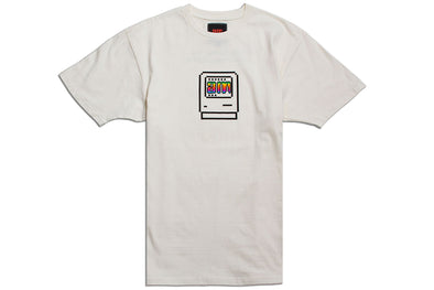AFTER MIDNIGHT COMPUTER TEE - Off White