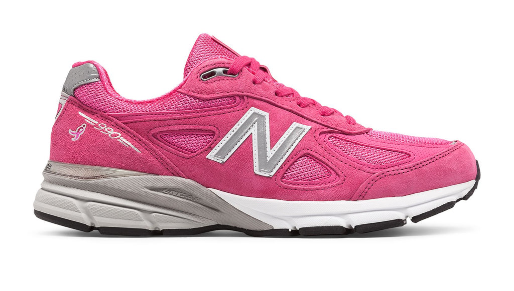finest selection 4d73e 964cc MEN'S NEW BALANCE 990v4 - Pink Ribbon (Breast Cancer Awareness Edition)