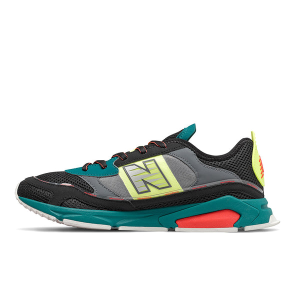 NEW BALANCE X-RACER - Black / Grey / Jade