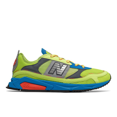 NEW BALANCE X-RACER - Slime Green / Blue