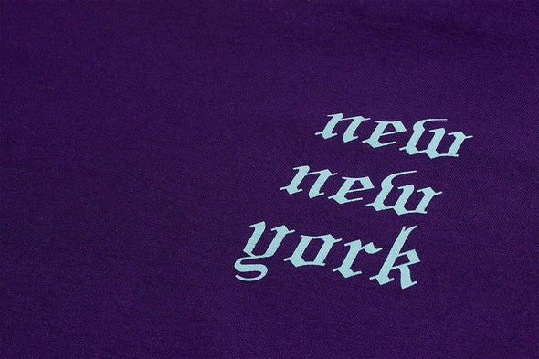 AFTER MIDNIGHT NEW NEW YORK TEE - Purple