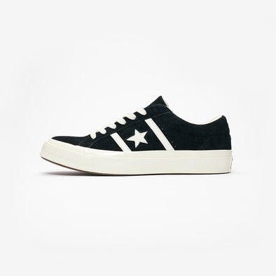 CONVERSE ONE STAR ACADEMY OX - BLACK/EGRET/EGRET