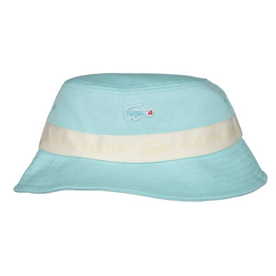 LACOSTE LIVE X TYLER THE CREATOR BUCKET HAT - Plumi