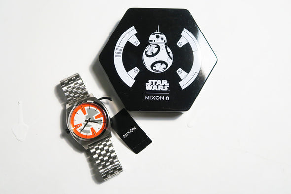 "NIXON ""Star Wars Series""  TIME TELLER SW  37 MM - BB-8 ORANGE / BLACK"