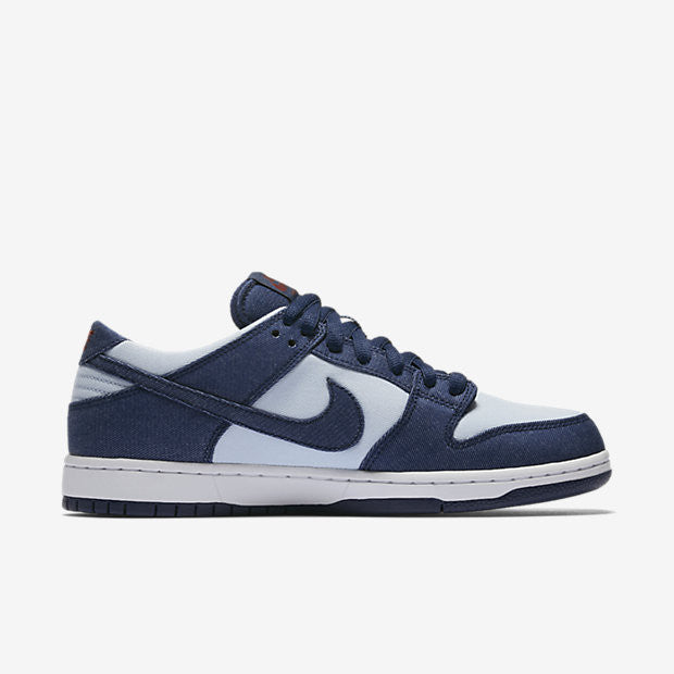 NIKE SB DUNK LOW PRO - BINARY BLUE/HYDROGEN BLUE/DARK TEAM RED/BINARY BLUE