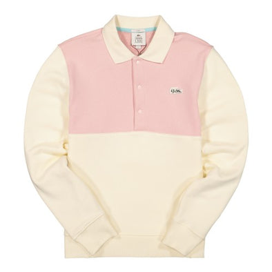 LACOSTE LIVE X TYLER THE CREATOR RUGBY SHIRT - Geode / Lychee