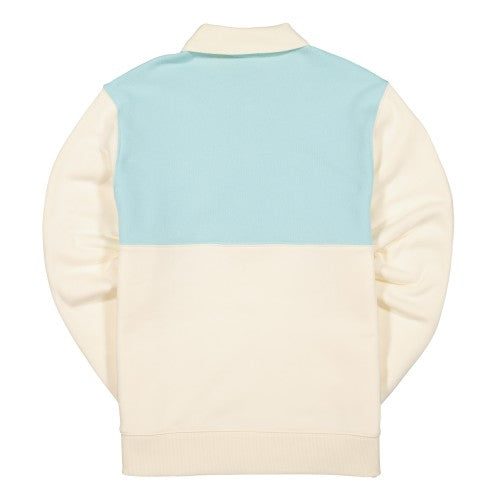 LACOSTE LIVE X TYLER THE CREATOR RUGBY SHIRT - Mascarpone / Plumi