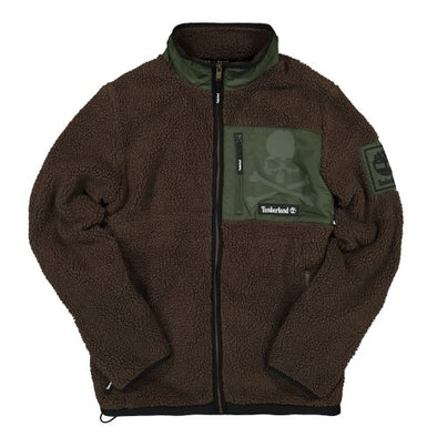 TIMBERLAND X MASTERMIND FLEECE JACKET - Beef / Broccoli
