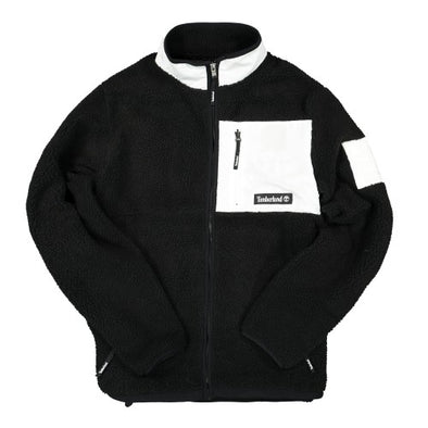 TIMBERLAND X MASTERMIND FLEECE JACKET - Black / White