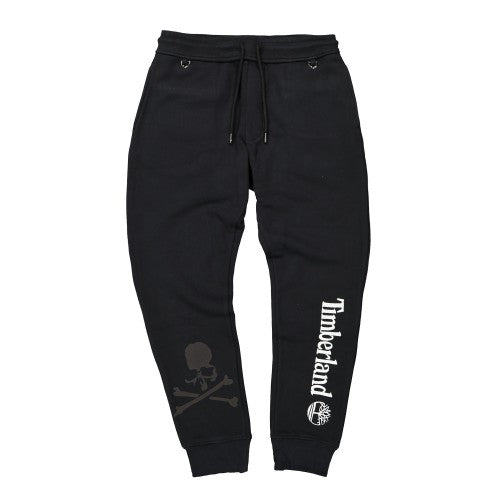 TIMBERLAND X MASTERMIND SWEATPANTS - Black / White