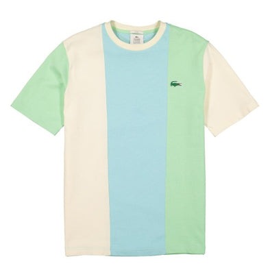 LACOSTE LIVE X TYLER THE CREATOR T-SHIRT - Ash / Geode - Plumi