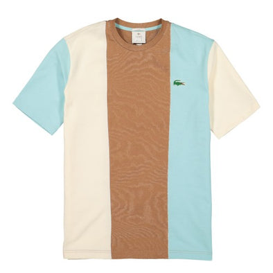 LACOSTE LIVE X TYLER THE CREATOR T-SHIRT - Plumi / Geode - Plumi