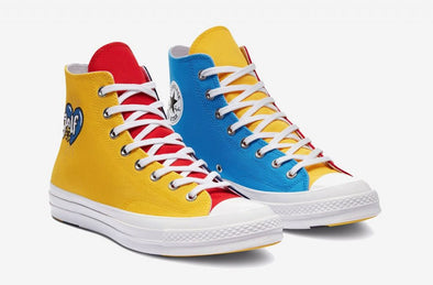 CONVERSE x GOLF WANG CT70 - TRI PANEL (Blue/Yellow/Red)