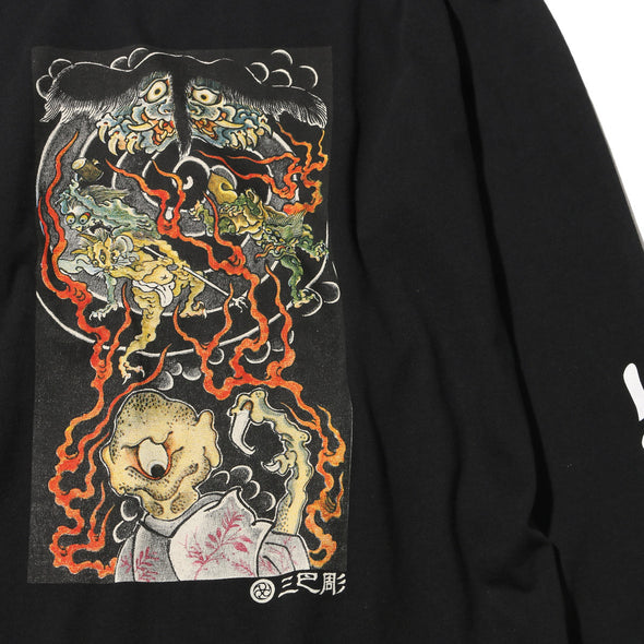 "Ubiq Three Tides Tattoo × Ubiq ""irezumi"" Youkai Black"