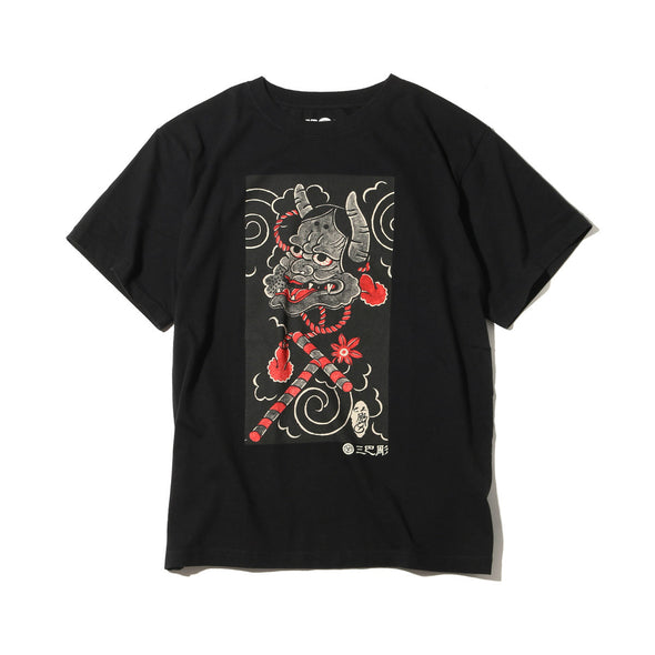 "Ubiq Three Tides Tattoo × Ubiq ""irezumi"" Hannya Black"