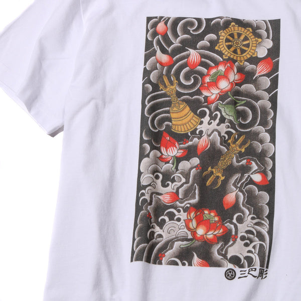 "Ubiq Three Tides Tattoo × Ubiq ""irezumi"" Butsugu White"