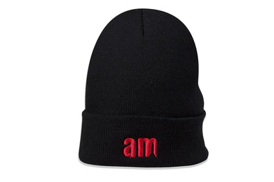 AFTER MIDNIGHT WATCHCAP BEANIE - Black / Red