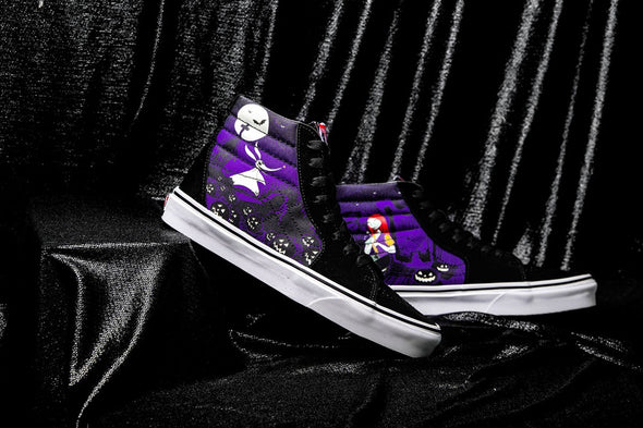VANS x NIGHTMARE BEFORE CHRISTMAS SK8 HI JACK - Black / Purple