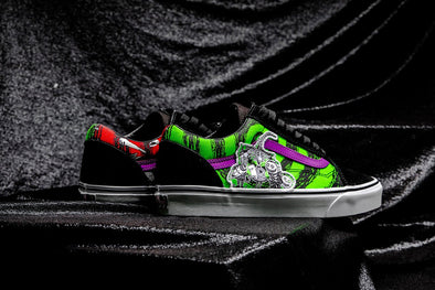 VANS x NIGHTMARE BEFORE CHRISTMAS OLD SKOOL - Green / Red / Black