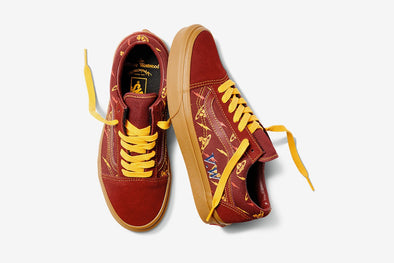 MEN'S VANS OLD SKOOL X VIVIENNE WESTWOOD - MAROON / GOLD
