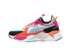 WOMEN's PUMA RS-X Toys - White/Black/Fuchsia Purple