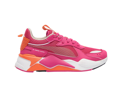 WOMEN's PUMA RS-X Toys - Purple/Nasturtium/White