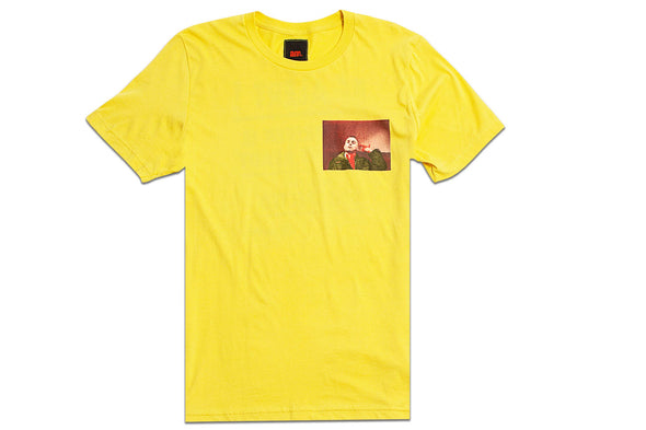 AFTER MIDNIGHT TAXI DRIVER TEE - Yellow