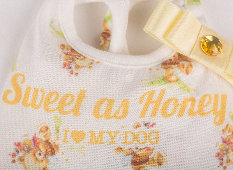 "Canotta ""Bow Shirt Hug Me"" - I Love My Dog"