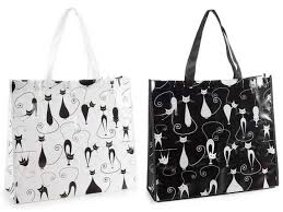 "Borsa ""Shopper Rigida Gatti"""