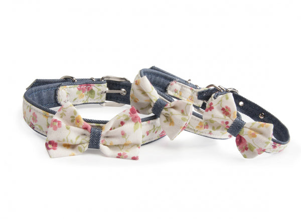 "Collare ""Jeans & Flowers"" - Camon"