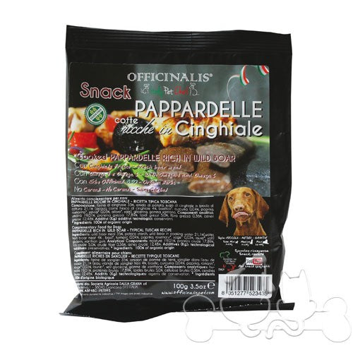 "Snack per cani ""Pappardelle al Cinghiale"" - Officinalis"