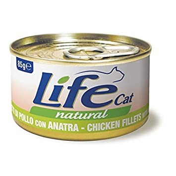 "Scatoletta per gatti ""Filetti di Pollo con Anatra"" - Life Pet Care"