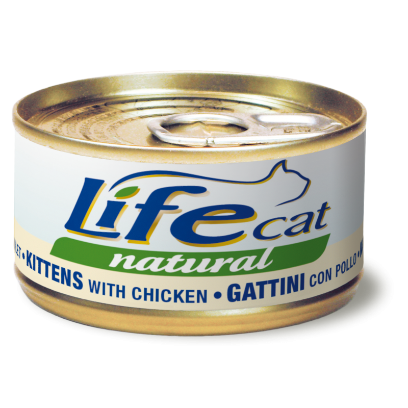 "Scatoletta per gattini ""Pollo Kitten"" - Life Pet Care"