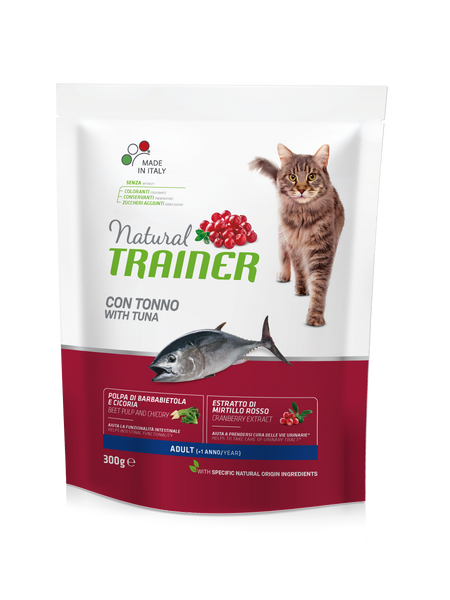 "Croccantini per gatti ""Natural Trainer Adult con Tonno"" - Trainer"