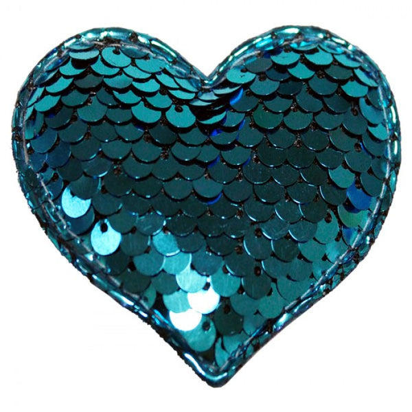 "Accessorio ""Add&Dog Cuore In Paillettes Blu"" - Switchdog"