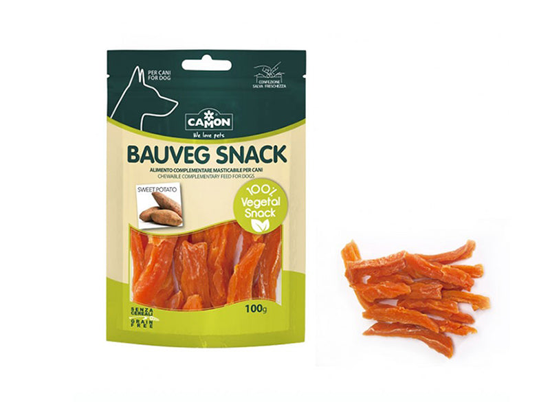 "Snack vegetali ""Bauveg con patata dolce"" - Animal Farm by Camon"
