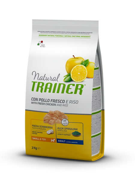 "Croccantini per cani ""Natural Trainer Mini Adult al Pollo"" - Trainer"
