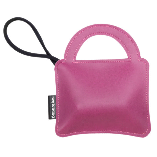 "Porta sacchetti ""La Bag In Vinilpelle Rosa"" - Switchdog"