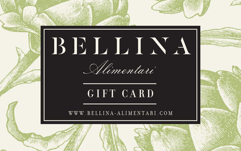 Bellina Alimentary Dine-in and shop-i nGift card