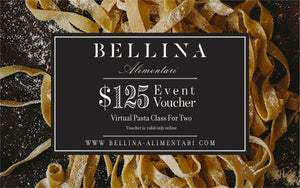 Gift For a Virtual Italian Cooking Class For Two – The Full Expireance - Mercato Di Bellina