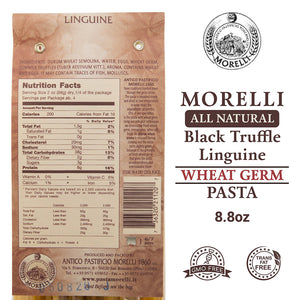 Nutrition Facts for Pastificio Morelli Linguine Tartufo Linguine Pasta with Truffle