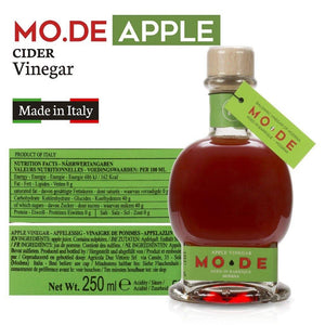 Mo.De Apple Cider Vinegar of Modena, Italy Aged in Barrique