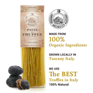 Pasta with Truffle Made from 100% Organic Ingredients