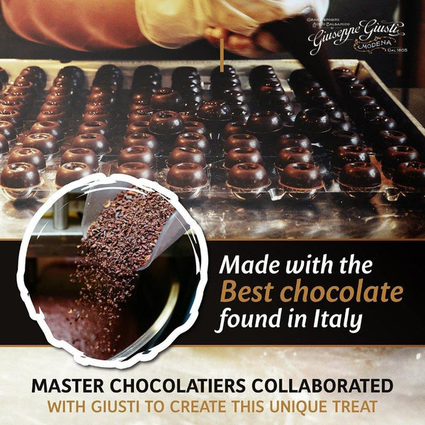 Giuseppe Giusti Italian Dark Chocolates with Balsamic Vinegar of Modena 3 Medals