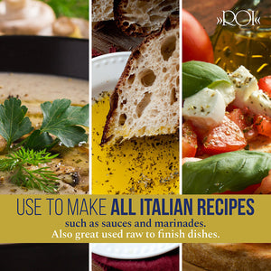 ROI Italian Extra Virgin Olive Oil for All Italian Recipes